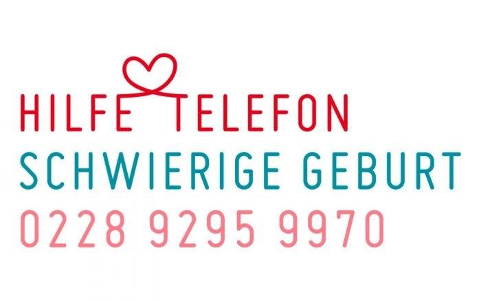 Logo Hilfetelefon Schwierige Geburt 0228 92959970